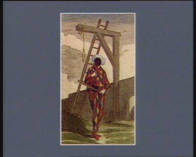 Avis aux perturbateurs du bon-ordre, par feu Bordier mort en l'air à Rouen le 21 août 1789 vous verrez que je serai pendu pour arranger l'affaire. Nuit aux aventures Act. III sc. IX. role de Frontin : [estampe]