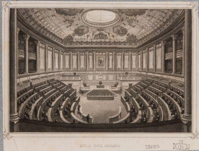 Palazzo Madama. Aula del Senato