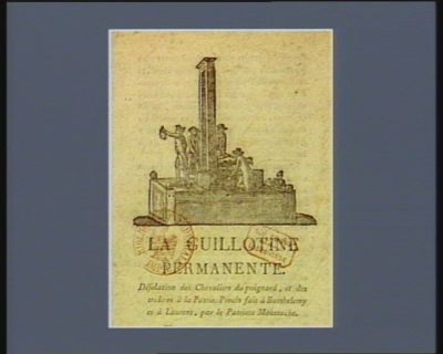 La  Guillotine permanente [estampe]
