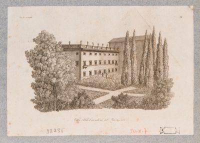 Villa Aldobrandini al Quirinale. Casino e parco