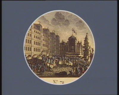 N.o 72 18 septembre. Proclamation de la première constitution... : [estampe]