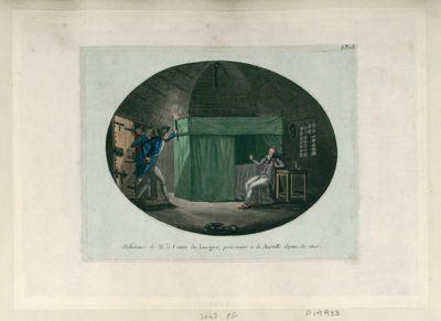 Délivrance de M. le Comte de Lorges, prisonnier à la Bastille depuis 32 ans [estampe]