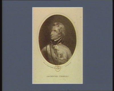Archduke Charles [estampe]