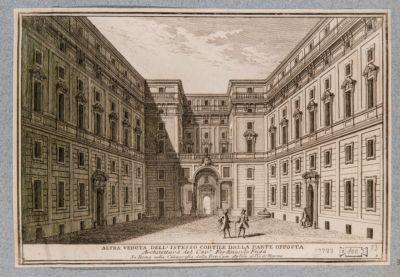 Palazzo della Consulta, cortile