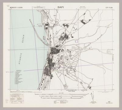 Safi : city plan