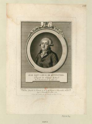 Jean Bapt. Louis de Kyttpotter député du départ du Nord, né à Hazebrouck, le 19 juin 1751 : [estampe]