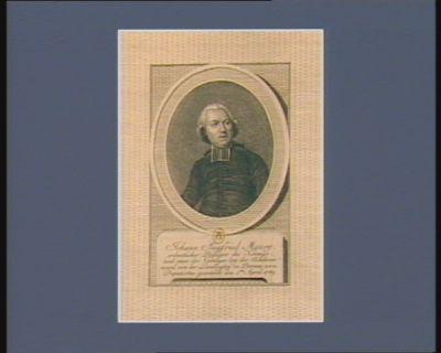 Johann Siegfried Maury Ordentlicher Prediger des Koenigs und einer der Nierziger bey des Academie ward von der Land vogrey zu Peronne zum Deputirten gewachet den 1.ten April 1789 : [estampe]
