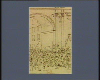 [Sixième événement du quatorze juillet 1789] [dessin]
