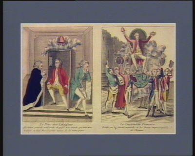 Le  Tiers état confesseur La Constitution française... : [estampe]