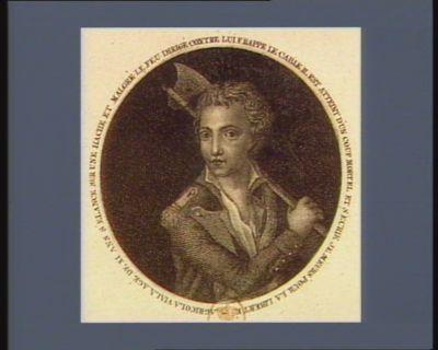 Agricola Viala agé de XI ans s'élance sur une hache, et malgré le feu dirigé contre lui frappe le cable il est atteint d'un coup mortel et s'ecrie je meurs pour la liberté : [estampe]
