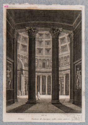 Pantheon di Agrippa nello stato antico