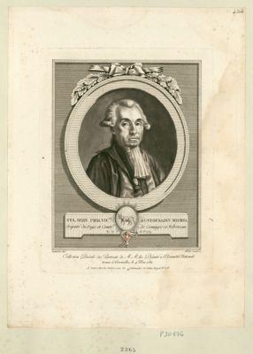 Sta. Bern. Pier. vic.te d'Ustousaint Michel député du pays et comté de Cominges et Nébouzau né le 16 j.et 1739 : [estampe]
