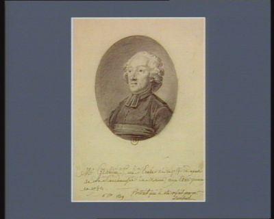 M.r Grandin Curé d'Ernée né en 1755. Deputé de la Senechaussée du Maine, aux Etats généraux en 1789 : [dessin]