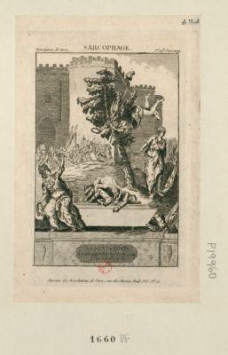 Sarcophage ils sont morts pour la liberté françoise le 14 juillet 1789 : [estampe]