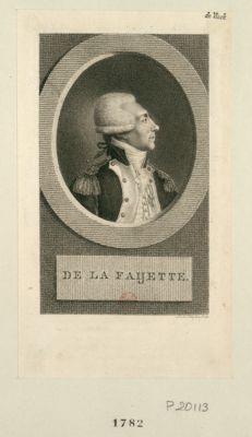 De La Faijette [estampe]