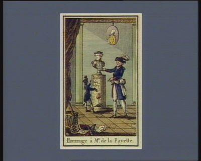 Hommage à Mr de La Fayette [estampe]