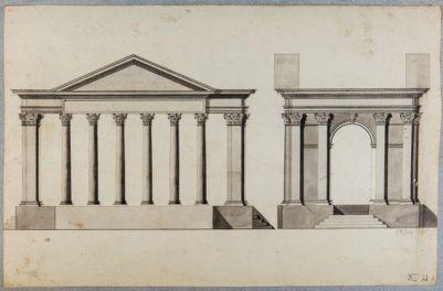 Portico d'Ottavia, ricostruzione