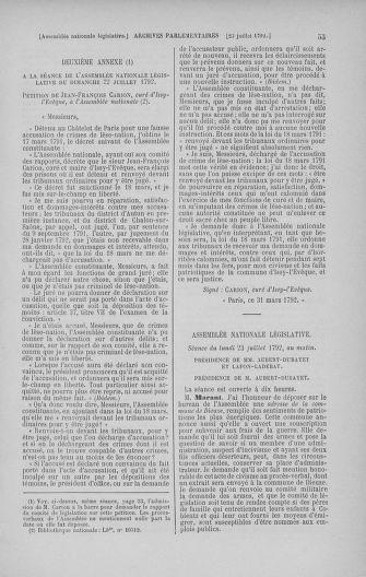 Tome 47 : Du 21 juillet au 10 août 1792 - page 55