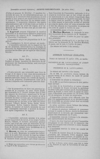 Tome 47 : Du 21 juillet au 10 août 1792 - page 119