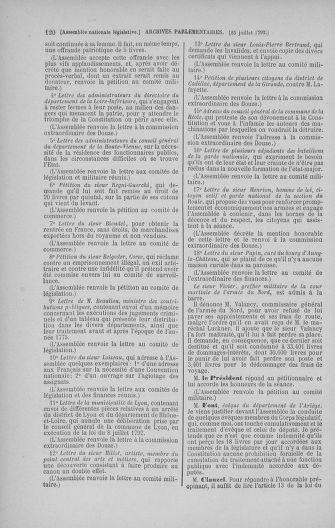 Tome 47 : Du 21 juillet au 10 août 1792 - page 120