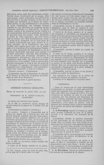 Tome 47 : Du 21 juillet au 10 août 1792 - page 139