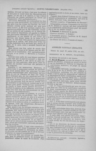 Tome 47 : Du 21 juillet au 10 août 1792 - page 163