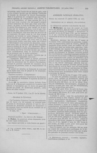 Tome 47 : Du 21 juillet au 10 août 1792 - page 199
