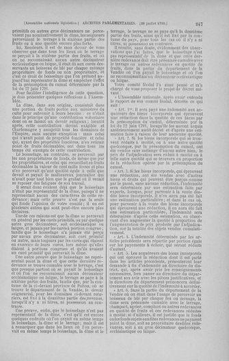 Tome 47 : Du 21 juillet au 10 août 1792 - page 247