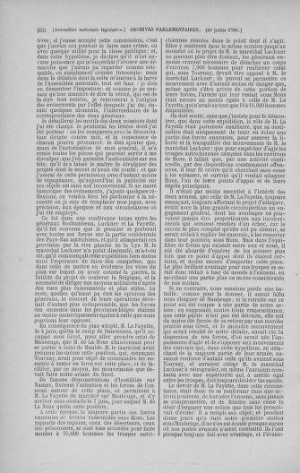 Tome 47 : Du 21 juillet au 10 août 1792 - page 260