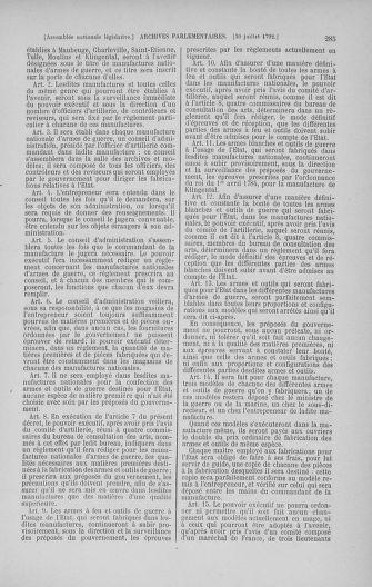 Tome 47 : Du 21 juillet au 10 août 1792 - page 285