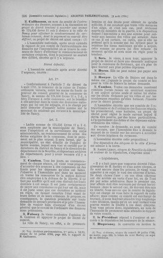 Tome 47 : Du 21 juillet au 10 août 1792 - page 398