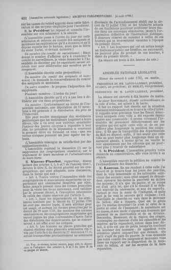 Tome 47 : Du 21 juillet au 10 août 1792 - page 452