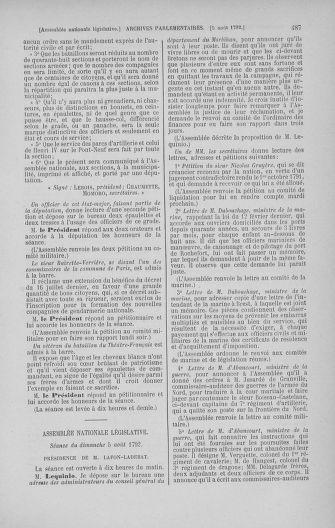 Tome 47 : Du 21 juillet au 10 août 1792 - page 487