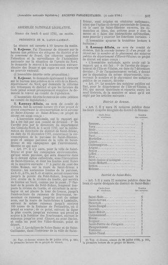 Tome 47 : Du 21 juillet au 10 août 1792 - page 507