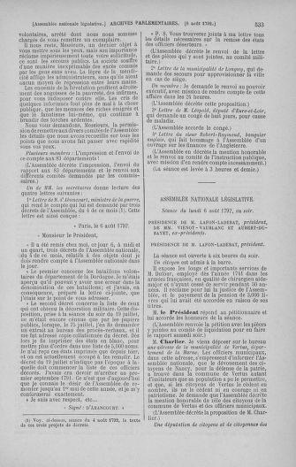Tome 47 : Du 21 juillet au 10 août 1792 - page 533