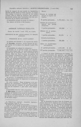 Tome 47 : Du 21 juillet au 10 août 1792 - page 541