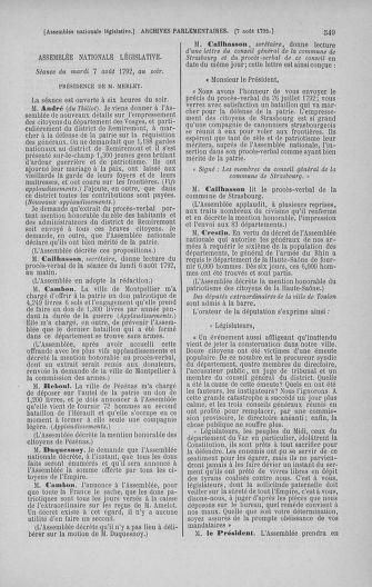 Tome 47 : Du 21 juillet au 10 août 1792 - page 549