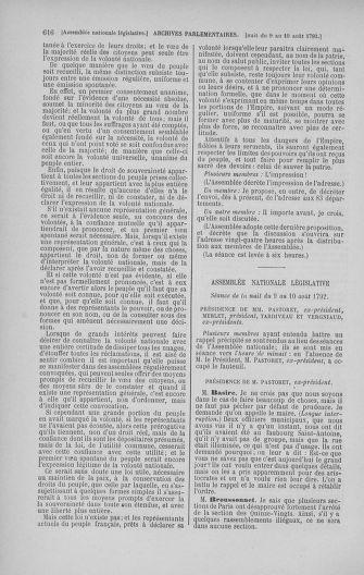 Tome 47 : Du 21 juillet au 10 août 1792 - page 616