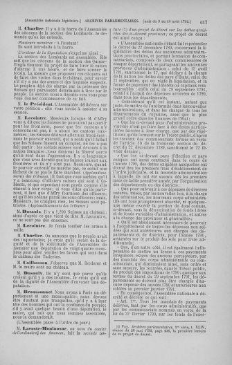 Tome 47 : Du 21 juillet au 10 août 1792 - page 617