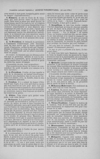 Tome 47 : Du 21 juillet au 10 août 1792 - page 635