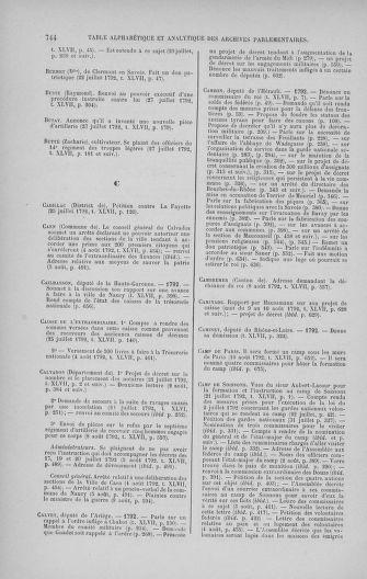 Tome 47 : Du 21 juillet au 10 août 1792 - page 744