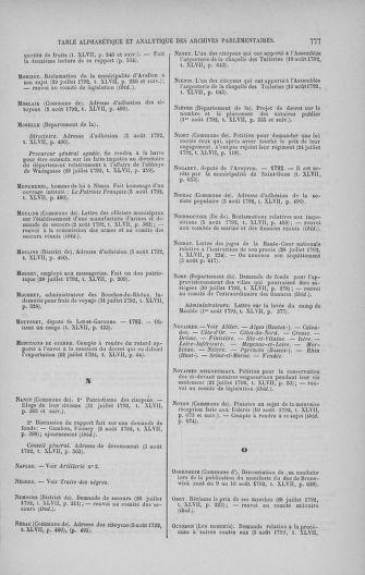 Tome 47 : Du 21 juillet au 10 août 1792 - page 777
