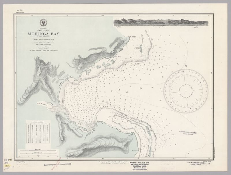 Africa, east coast : Mchinga Bay (Port Nungwa)