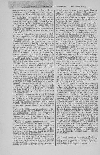 Tome 10 : Du 12 novembre au 24 décembre 1789 - page 2