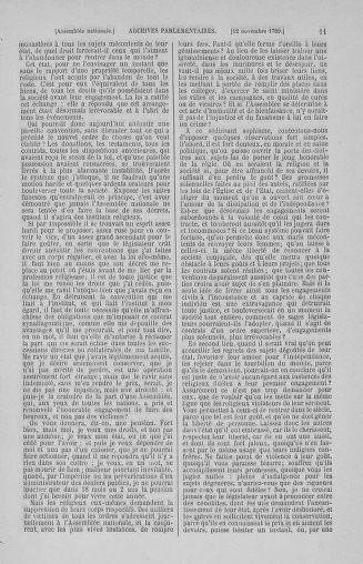 Tome 10 : Du 12 novembre au 24 décembre 1789 - page 11