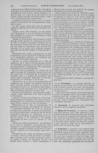 Tome 10 : Du 12 novembre au 24 décembre 1789 - page 42