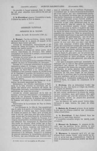Tome 10 : Du 12 novembre au 24 décembre 1789 - page 66