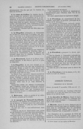 Tome 10 : Du 12 novembre au 24 décembre 1789 - page 82