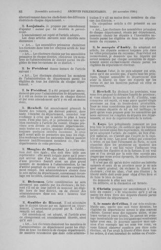 Tome 10 : Du 12 novembre au 24 décembre 1789 - page 88