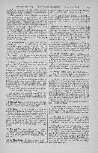 Tome 10 : Du 12 novembre au 24 décembre 1789 - page 115